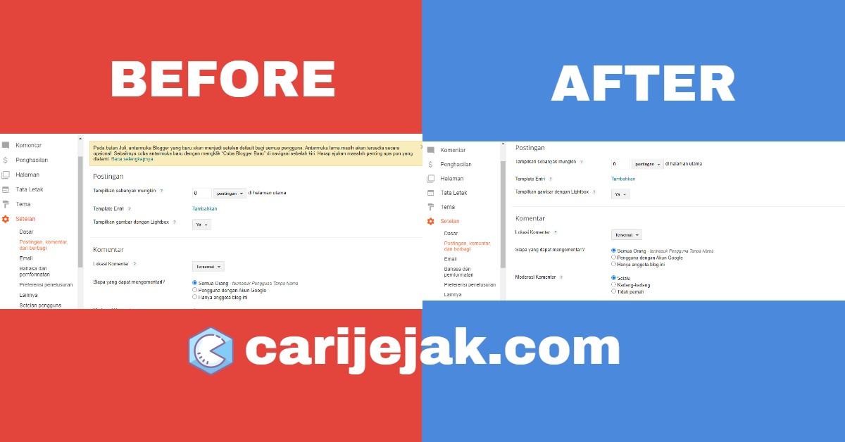Cara Hapus Widget Postingan di Homepage Desktop/Mobile di Template DetikCoy