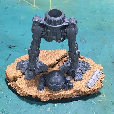 Legio Tempestus Warbringer Nemesis Titan WIP