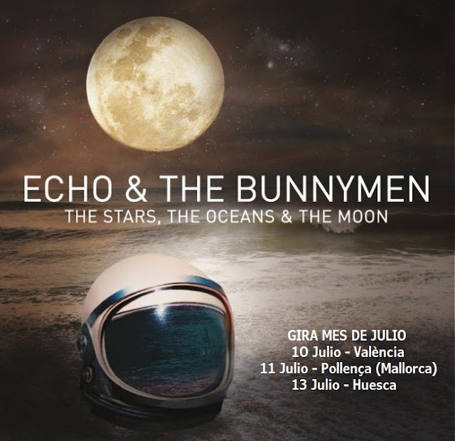 Nueva gira en Julio de Echo & The Bunnymen