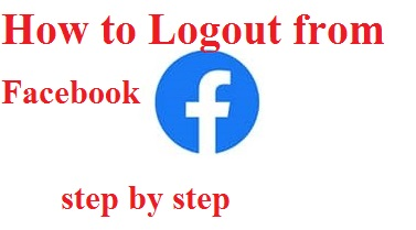 Logout From Facebook