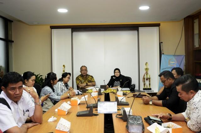 Anggota DPRD Kabupaten Jembrana Bertandang Temui Setjen DPR-RI