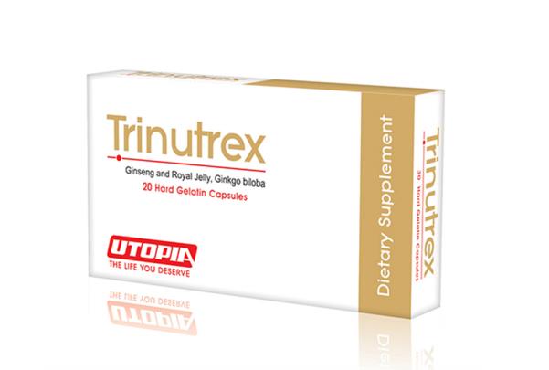 سعر ودواعي استعمال كبسولات ترينوتركس TRINUTREX مكمل غذائي