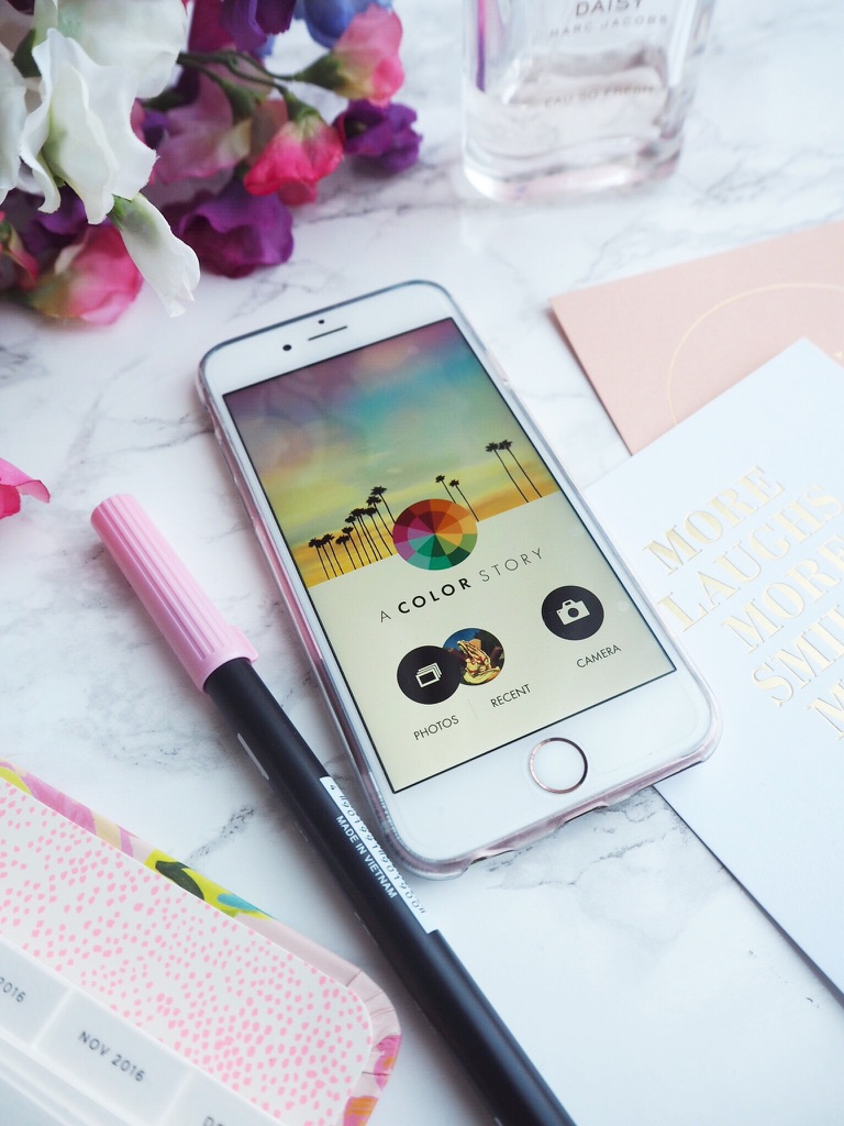 Five apps for blogging - Color Story