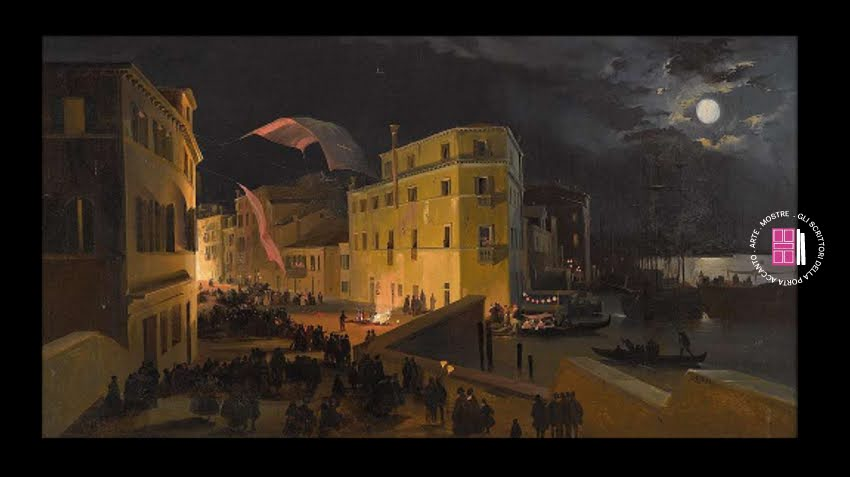 Festa a Venezia di Ippolito Caffi