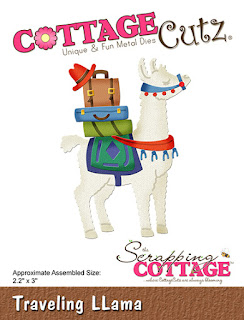 http://www.scrappingcottage.com/cottagecutztravelingllama.aspx