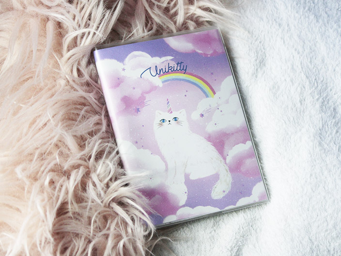 Dreamy Unikitty Notebook