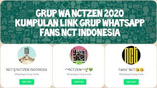Link grup whatsapp nct indonesia
