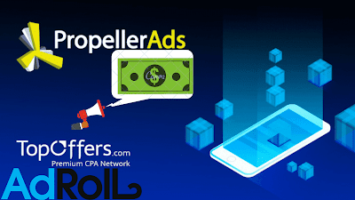 Propeller ads-A High-quality Network to monetize your website easily