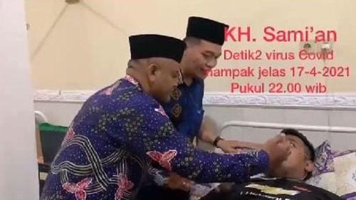 Begini Kondisi Sami'an yang Juga Hirup Napas Pasien COVID-19 di Jombang