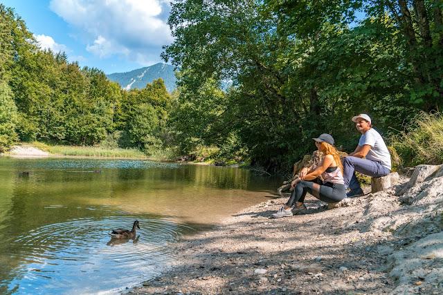 Entdeckungstouren Wasser Loisach - Kramerplateauweg - Ruine Werdenfels – Burgrain 13