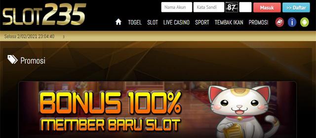 Bermain Judi Slot Online Dengan Bonus Jackpot Di Situs Slot235