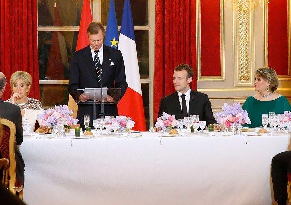 Duke Henri's and Maria Teresa's Visit to France