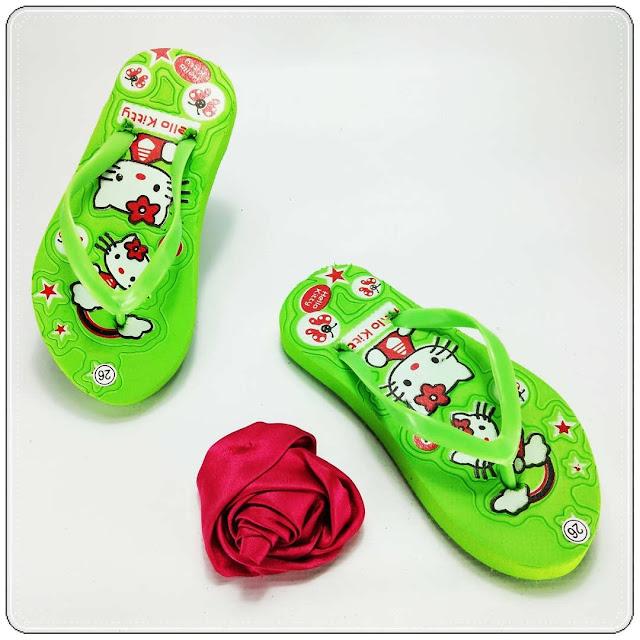 Grosir Online Sandal Anak Cewek Termurah & Trendy 2020- AB Sablon HK Anak