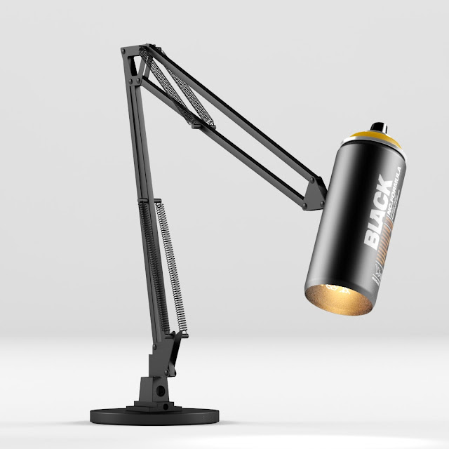 [3D Model Free] Table lamp