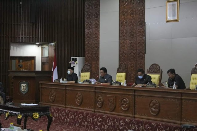 Paripurna Berakhirnya Jabatan Gubernur Bengkulu