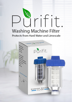 Purifit Washing Machine Filter - To Protect Machine from Hard Water & Limescale