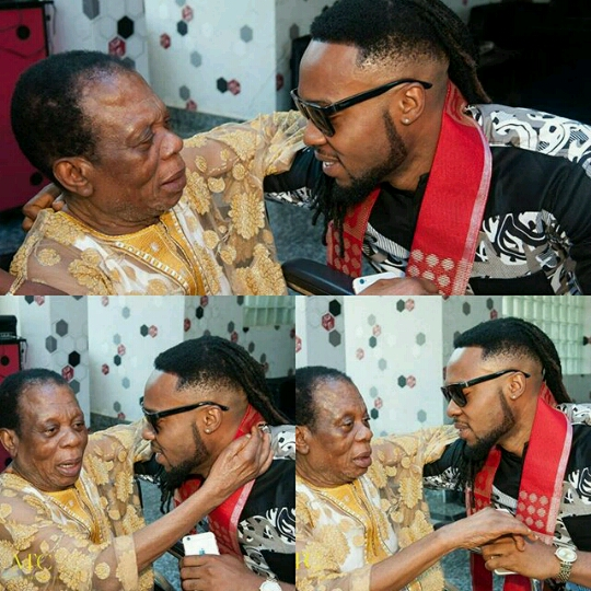 elder Benjamin Onyemaechi Okoli flavour's father