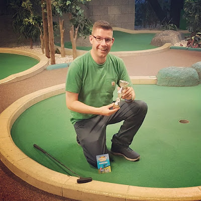 Richard Gottfried, Paradise Island Adventure Golf Open Champion 2018