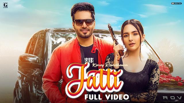 Jatti Song Lyrics : Karaj Randhawa Latest Punjabi Songs 2020 | Geet MP3 Lyrics Planet