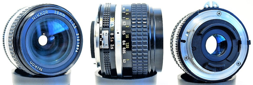 Nikon Nikkor Ai-S 28mm 1:3.5 #894