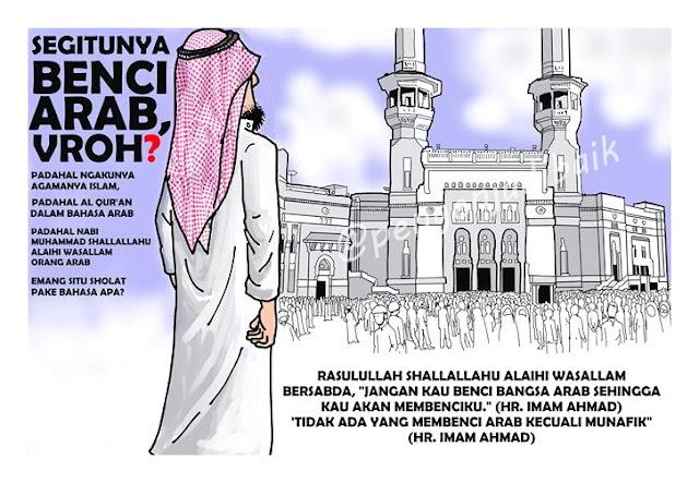 Arabphobia, Islam, dan Kadrun Dalam Sejarah Indonesia