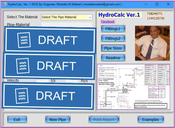 HydroCalc. is a software for hydraulic calculation in firefighting, irrigation and water mist fire suppression.