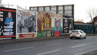 Murales reivindicativos en Belfast