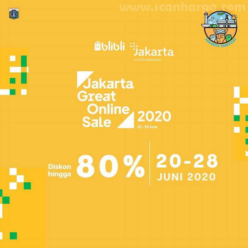 Blibli Promo Jakarta Great Online Sale 2020 dan Diskon HUT Jakarta Ke-493
