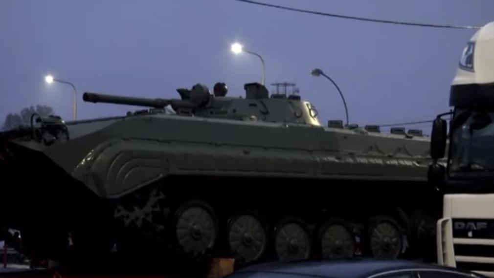 До України прибула партія «чеських» БМП-1