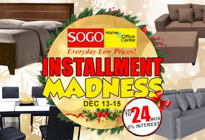 SOGO Home & Office Center Installment Madness