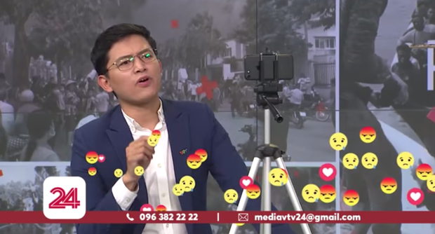 "Việt Hoàng livestream với ""500 anh em"""