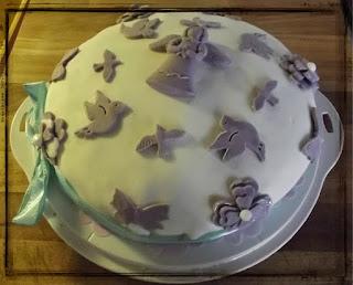 "Immagina di una torta di Sabrina del blog ""SABRINAINCUCINA"" vincitrice del secondo contest #HappyBirthdayAjoaPappai"