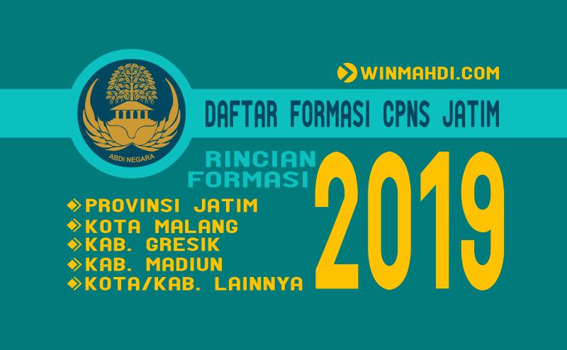 Formasi CPNS JATIM 2019