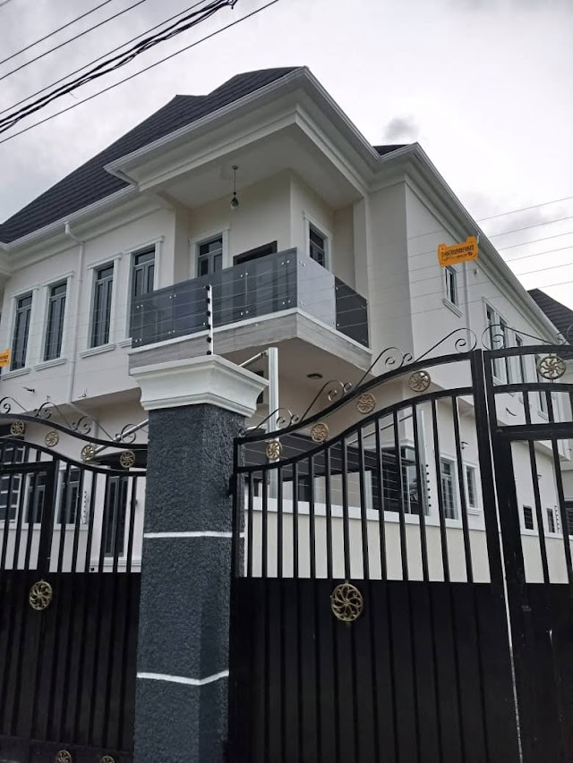 Newly built 4bedroom fully detached plus BQ at chevron for sale