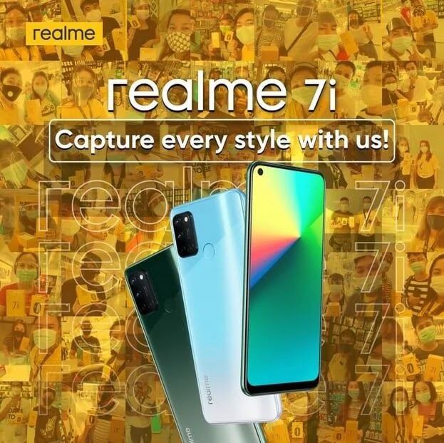 realme 7i with Snapdragon 662 and 64MP Quad Camera Now Available at Globe ThePLAN 999