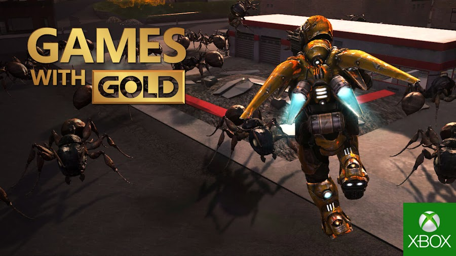 earth defense force 2017 xbox live gold free game