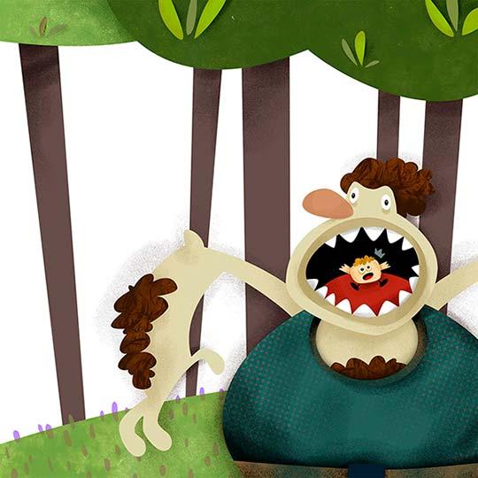 Ilustración de Esmeralda Puerto