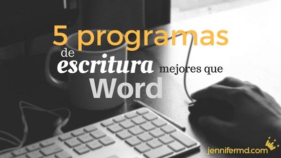 Programas para escribir