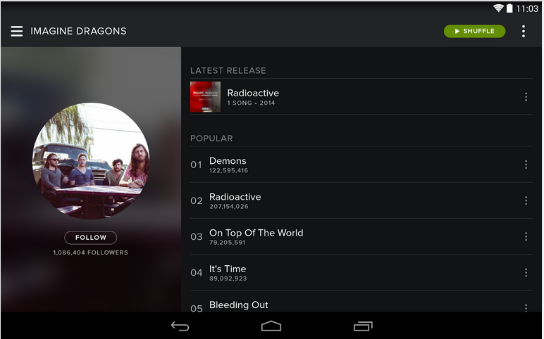 Spotify 8 4 0 534 for Android - Download | Spotify Premium Apk
