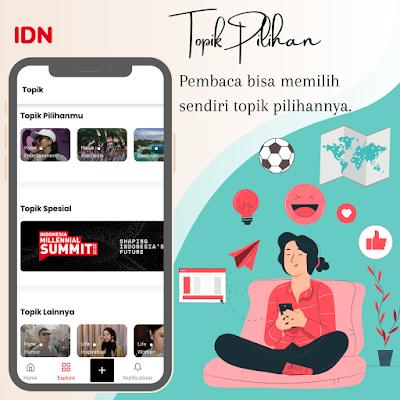 IDN App aplikasi berita