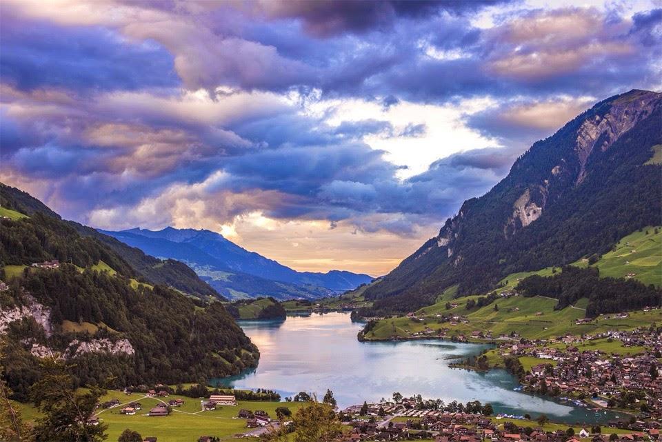 Lake lungern switzerland wallpapers | Hindi Motivational