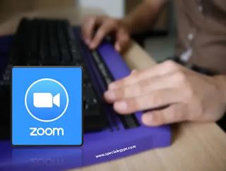 المكفوفين واستخدام برنامج زووم  Zoom
