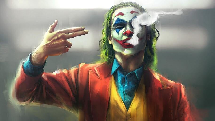Joker, Finger Gun, Movie, 4K, #3.2273
