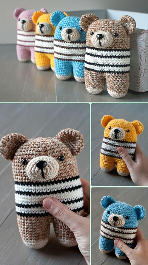 Crochet Donato Bear - Free Pattern