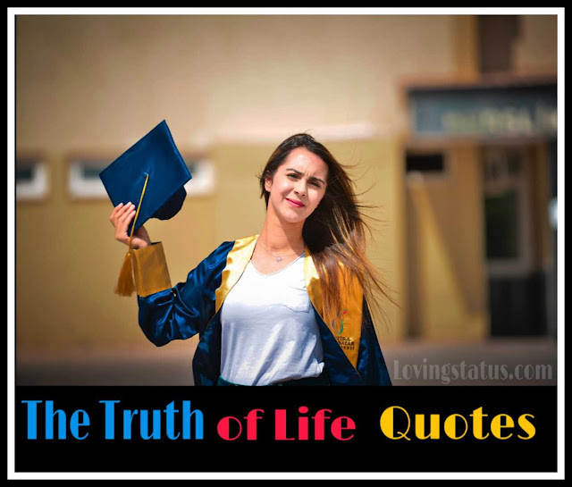 Truth of Life Quotes in Hindi   Motivation Status