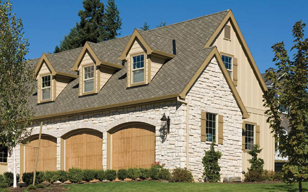 Our French Inspired Home European Style Garages and Garage Doors