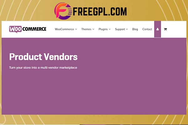 WooCommerce Product Vendors Free Download