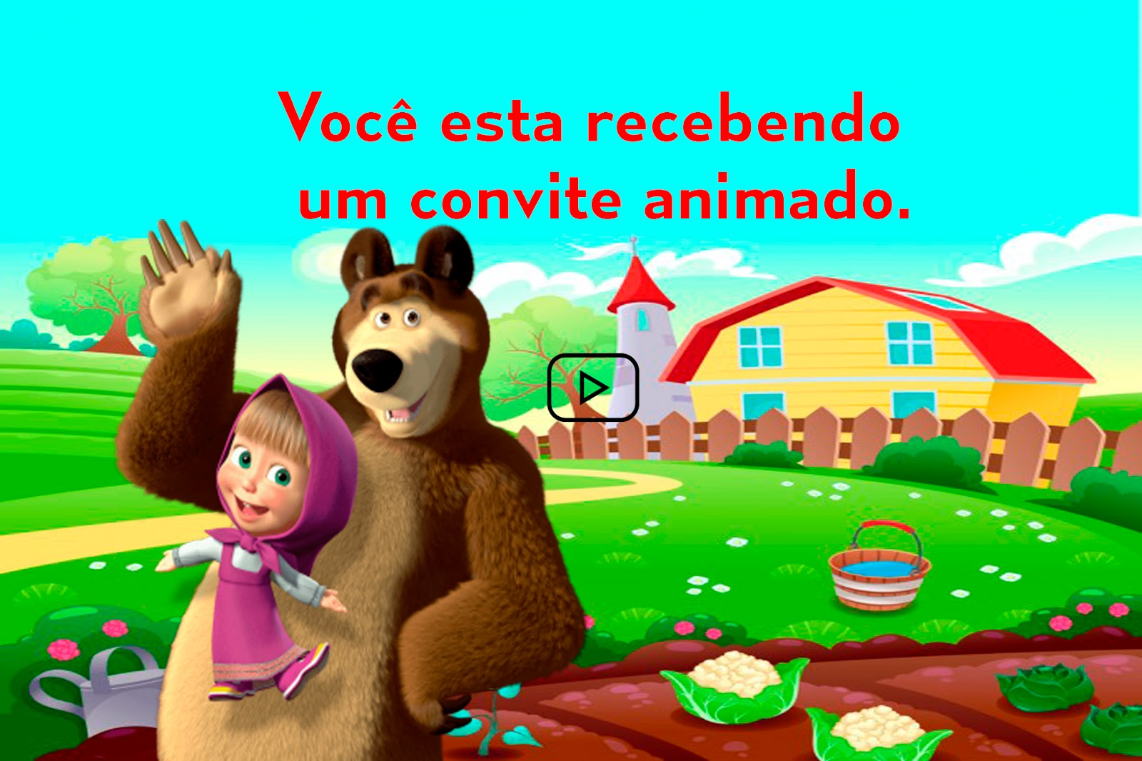 Jaques Cerimonial Como Fazer Convite Animado Da Masha E O Urso No