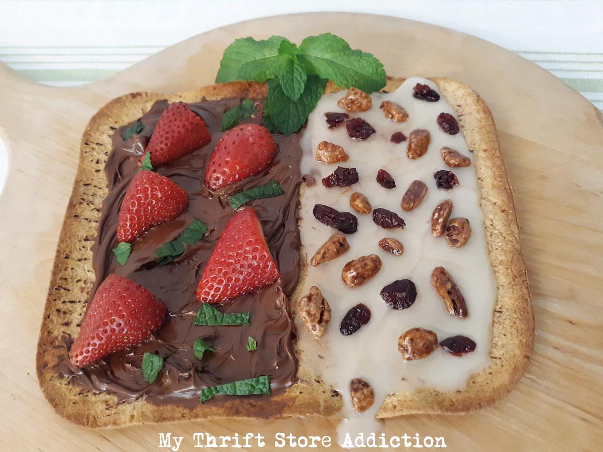 dessert flatbread