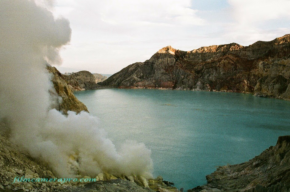 acid lake of Ijen Crater
